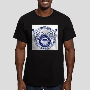 USCGAux-Eagle-Blue-X T-Shirt