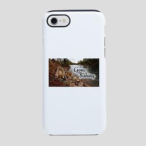 Gone Fishing iPhone 8/7 Tough Case