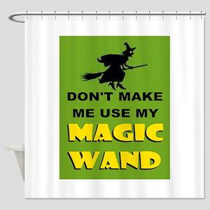 MAGIC WAND Shower Curtain