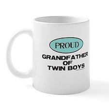 Grandfather of Twin Boys - Mug