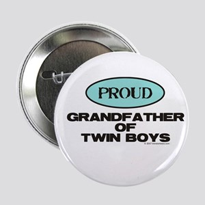 Grandfather of Twin Boys - Button
