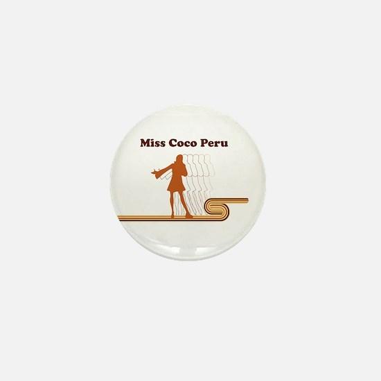 Miss Coco Peru Mini Button