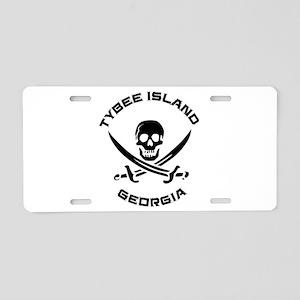 Georgia - Tybee Island Aluminum License Plate
