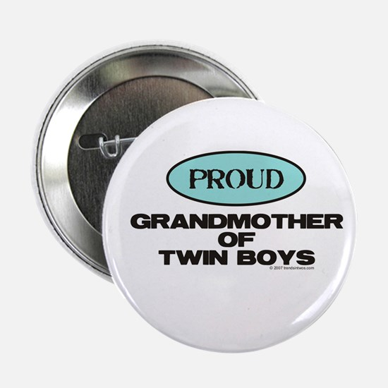 Grandmother of Twin Boys - Button