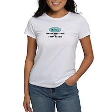 Grandmother of Twin Boys - Women's T-Shirt