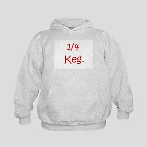 1/4 Keg, 1/2 Keg, Keg - Cute  Kids Hoodie