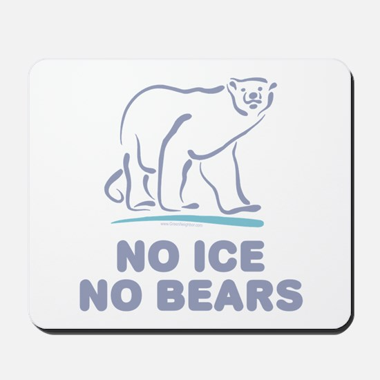Polar Bears & Climate Change Mousepad