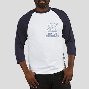 Polar Bears & Climate Change Baseball Jersey