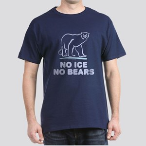 Polar Bears & Climate Change Dark T-Shirt