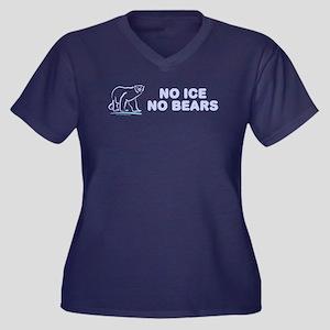 Polar Bears & Climate Change Women's Plus Size