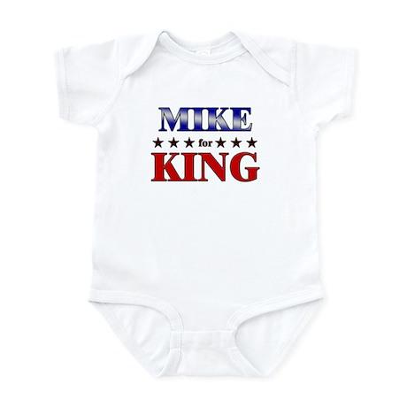 MIKE for king Infant Bodysuit