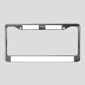 Biology License Plate Frame