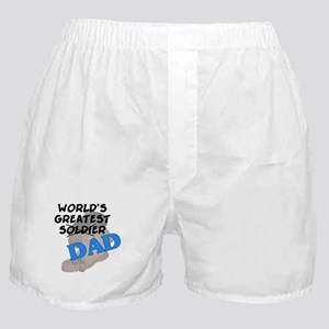 Greatest Soldier Dad Boxer Shorts