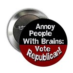 Annoy People With Brains Button