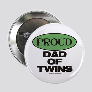 "Dad of Twins - 2.25"" Button"