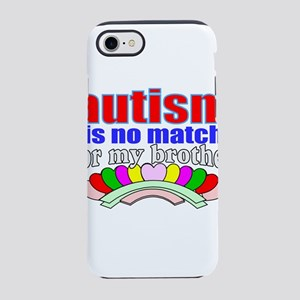 Autism brother iPhone 8/7 Tough Case