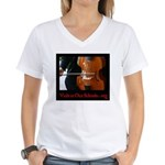 Viols in Our Schools Women's V-Neck T-Shirt
