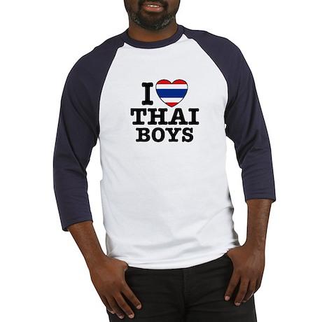 I love Thai Boys Baseball Jersey
