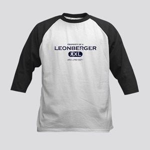 Property of Leonberger Kids Baseball Jersey