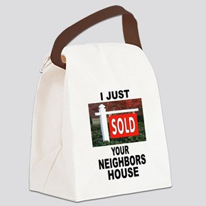 SOLD Canvas Lunch Bag
