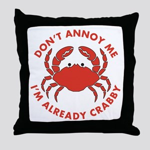 Dont Annoy Me Throw Pillow