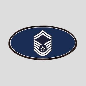 USAF: SMSgt E-8 (Blue) Patch