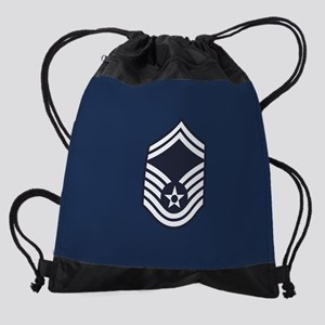 USAF: SMSgt E-8 (Blue) Drawstring Bag