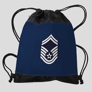 USAF: SMSgt E-8 (Blue) Drawstring Bag