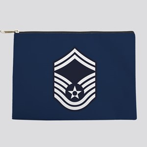 USAF: SMSgt E-8 (Blue) Makeup Bag