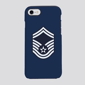 USAF: SMSgt E-8 (Blue) iPhone 8/7 Tough Case