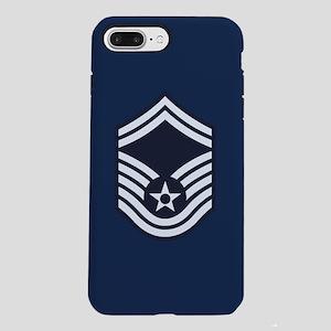 USAF: SMSgt E-8 (Blue) iPhone 8/7 Plus Tough Case