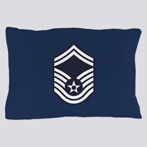 USAF: SMSgt E-8 (Blue) Pillow Case