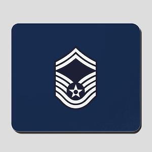 USAF: SMSgt E-8 (Blue) Mousepad