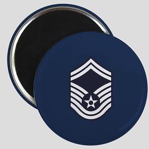 USAF: SMSgt E-8 (Blue) Magnet