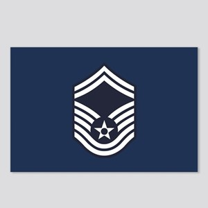 USAF: SMSgt E-8 (Blue) Postcards (Package of 8)