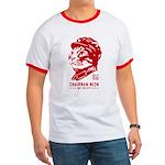 Red Chairman Meow - Propaganda Ringer T