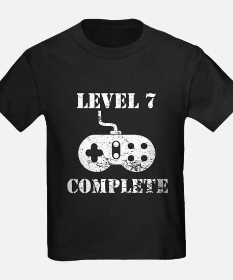 Level 7 Complete 7th Birthday T-Shirt