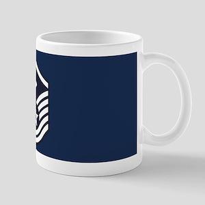 USAF: MSgt E-7 (Blue) 11 oz Ceramic Mug