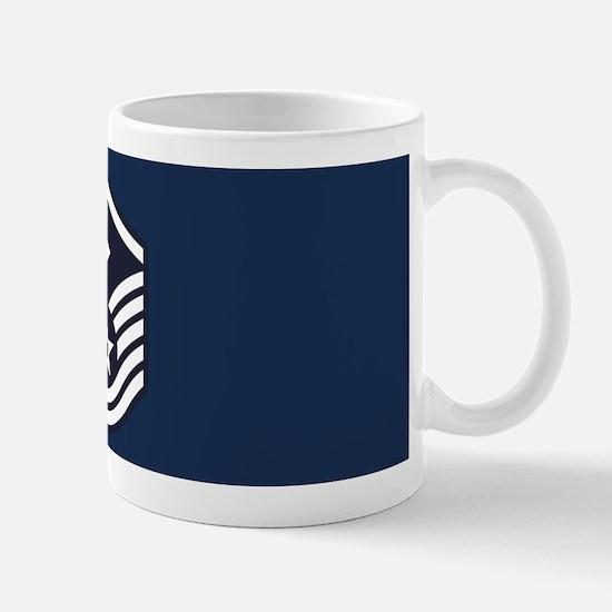USAF: MSgt E-7 (Blue) Mug