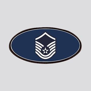 USAF: MSgt E-7 (Blue) Patch