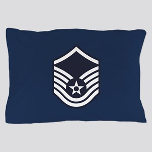 USAF: MSgt E-7 (Blue) Pillow Case