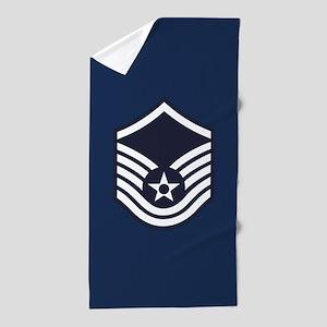 USAF: MSgt E-7 (Blue) Beach Towel