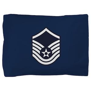 USAF: MSgt E-7 (Blue) Pillow Sham