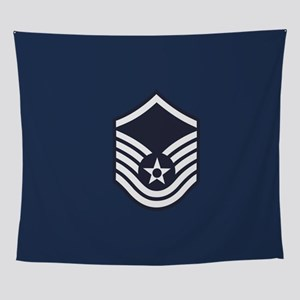USAF: MSgt E-7 (Blue) Wall Tapestry