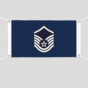 USAF: MSgt E-7 (Blue) Banner