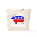 Fibertarian (tm) Party Knitting Bag