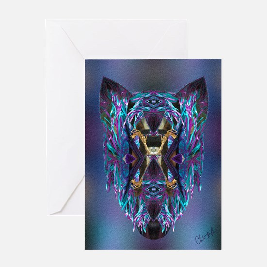 Wolf - Greeting Card