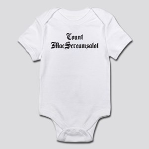 Count MacScreamsalot Infant Bodysuit