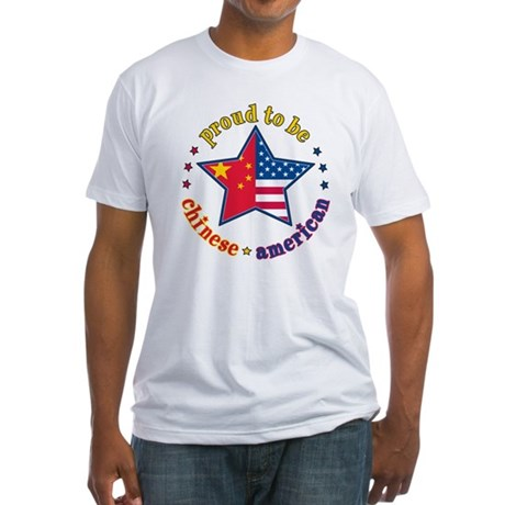 Fitted T-Shirt/Chinese American