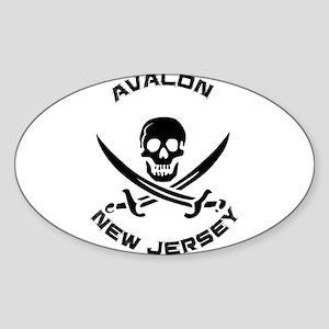 New Jersey - Avalon Sticker